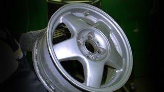 Можно ли править лёгкосплавные диски?