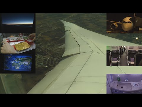 Full Flight Japan Airlines 787 Helsinki - Tokyo JL 414 with ATC Fear of Flying help