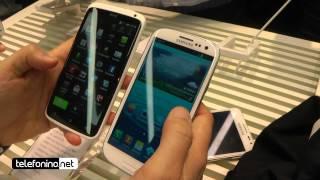 Galaxy S3 confronto dimensionale con Note e One X da Telefonino.net thumbnail