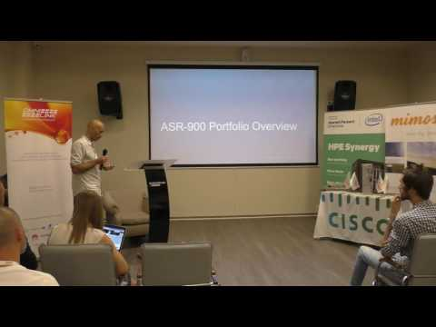 """Telecom Summit 2016: """"Розвиток транспортної пакетної платформи ASR900"""""""