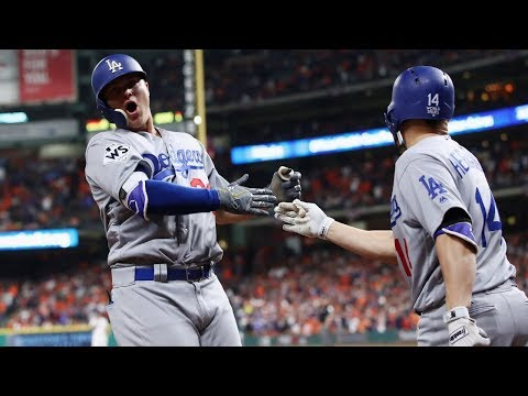 LA Dodgers vs. Houston Astros 2017 World Series Game 4 Highlights | MLB