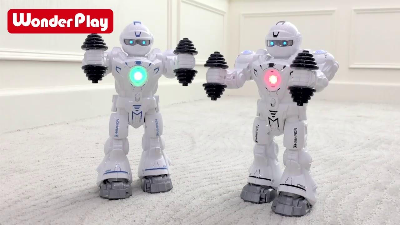 Download X-hong WonderPlay B/O Walking Robot W/Light & Music