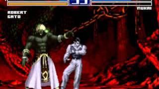 King of Fighters 2003 VS Mukai Lvl 8