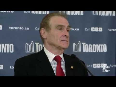 Toronto's new Mayor Norm Kelly comments on Rob Ford