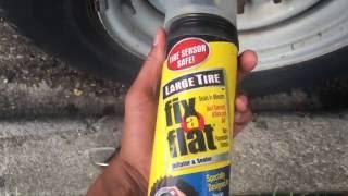 Fix a Flat Tire using Fix a Flat