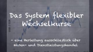 Wie funktioniert das System der freien Wechselkurse?