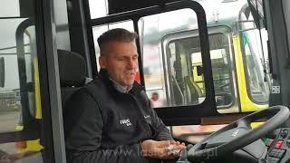 O nowych autobusach w ZKM Łask