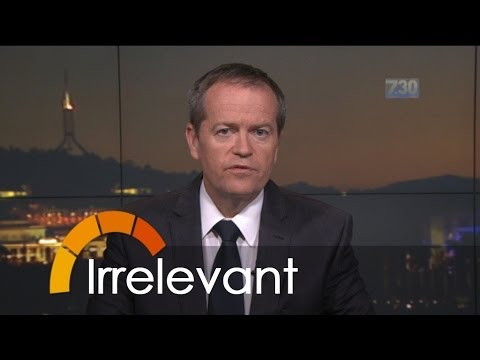 Bill Shorten's car subsidy numbers irrelevant, outdated