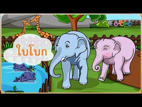 ใบโบกใบบัว (รู้จักคำนำเรื่อง) - ภาษาไทย ป.1