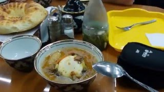 Обед в узбекской кухне.