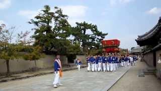 奈良 斑鳩神社の秋祭り-1