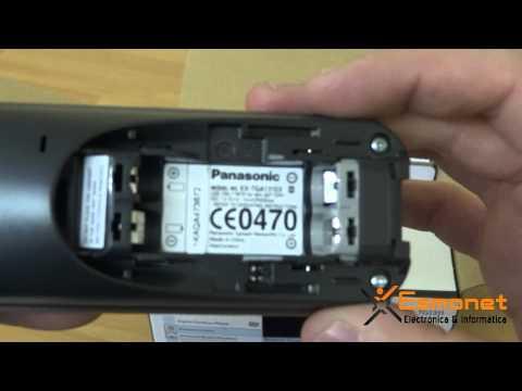 Desembalaje Panasonic KX-TG1311
