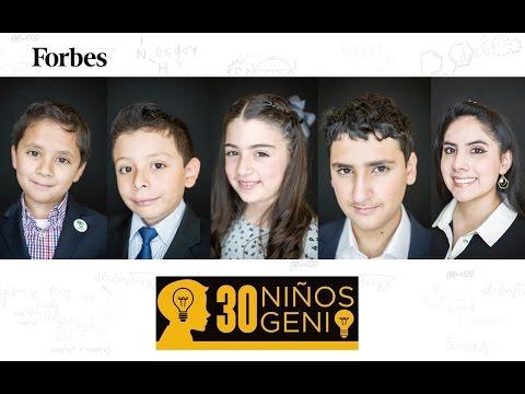 Listado Forbes, niños genio de México