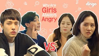 Why Are Girls Always Angry? EP.01 [Why Girls] • ENG SUB • dingo kdrama