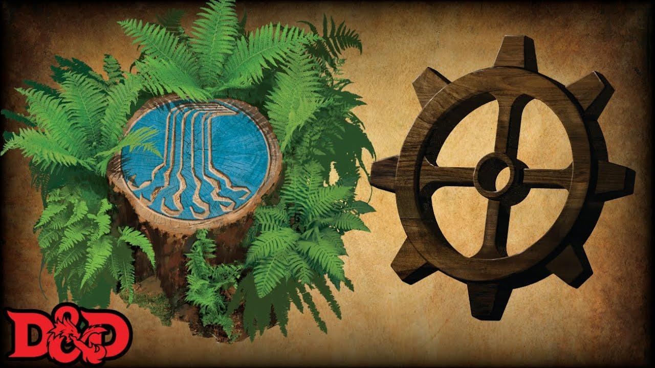 Forgotten Realms Pantheon - Eldath and Gond