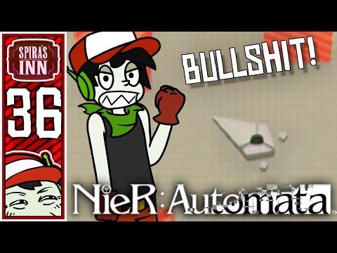 Bullshit Hacking Level! - NieR Automata - 36