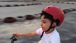 SADO'NUN YENİ BENZİNLİ ATV MOTORU Little child Ride on Quad Bike - Funny Kids Video