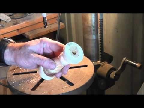 How to make replacement handles for antique tools and other things Pt  2