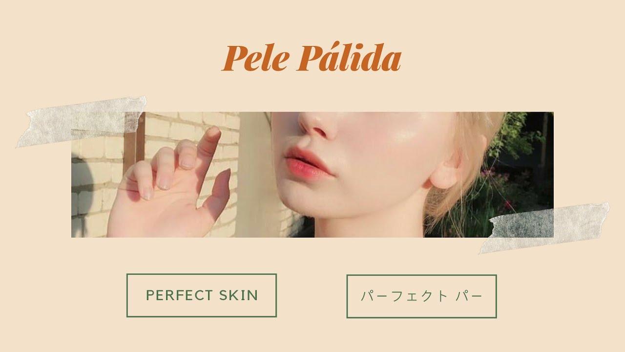 ⌜exagerado⌟ Pele pálida.
