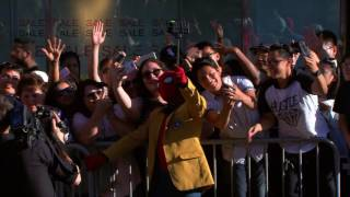 Tom Holland Makes an Entrance at the Spider-Man: Homecoming Red Carpet Premiere