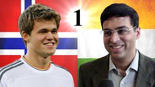 Viswanathan Anand vs Magnus Carlsen   2014 World Chess Championship   Game 1