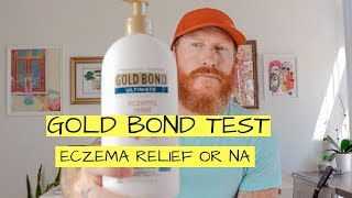 GOLD BOND ECZEMA relief lotion (REVIEW / 30 DAY TEST)