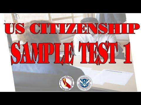 Sample Test 1 | US Citizenship