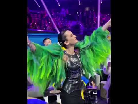Eurovision 2021 ? party in greenroom