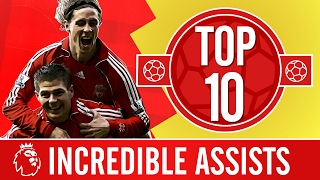 Top 10: The most incredible Premier League assists | Gerrard, Alonso, Coutinho