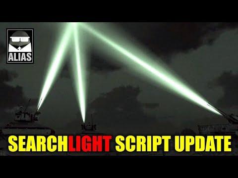 Скрипт прожектора