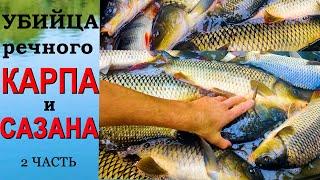 САМАЯ ЛУЧШАЯ Убийца КАРПА и САЗАНА Супер МАМАЛЫГА для рыбалки МАМАЛЫГА своими руками 2 ЧАСТЬ