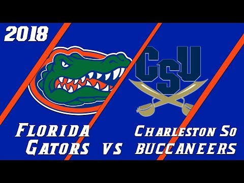 18.1 Florida Gators vs Charleston Southern Condensed