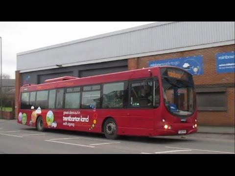 Trent Barton HQ Langley Mill Bus Depot - Winter 2017
