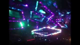 EDC Las Vegas 2013 - Dave Winnel Achtung! Gets Played twice!! :)