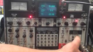 IFR FM/AM-1500 Communications Service Monitor Operation