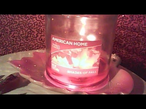 American Home By YANKEE CANDLE Shades Of Fall Review - VanScott #70