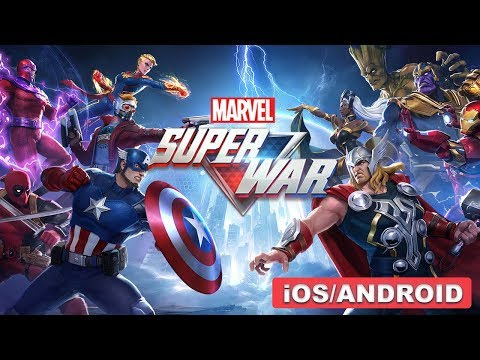 MARVEL Super War - ANDROID / IOS GAMEPLAY