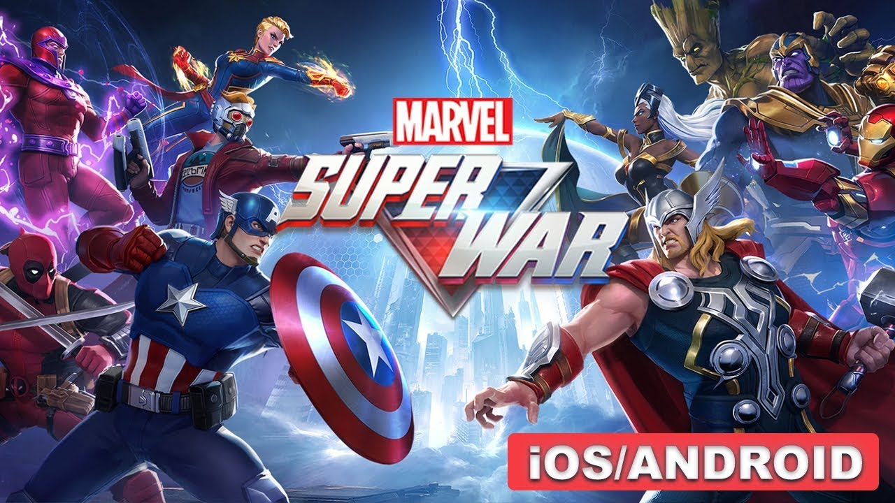 Marvel Super War brings MOBA action to Android and iOS in its first
