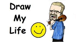 DRAW MY LIFE - THE UKULELE TEACHER! (UKE BLOG)