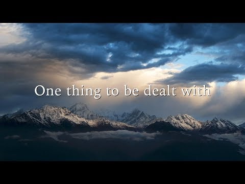 One thing to be dealt with (David Wilkerson)