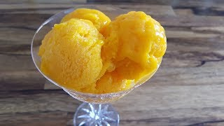 How to Make 3-Ingredient Mango Sorbet | Mango Sorbet Recipe