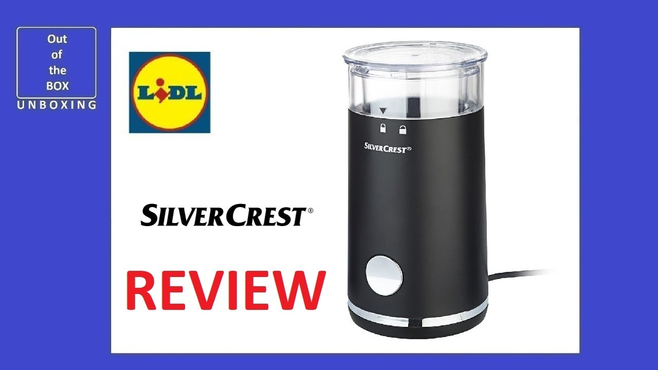 Silvercrest Electric Coffee Grinder Skms 150 A1 Review Lidl 70g 150w 8 9 Cups