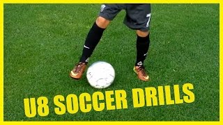 u8 soccer drills   practice plans