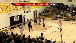 High School Basketball: Park City @ Union Boys Varsity Jan. 15, 2013