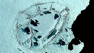 Dome-like THING in Antarctica?