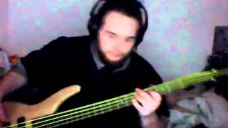 Evanescense - Call Me When Your Sober bass cover