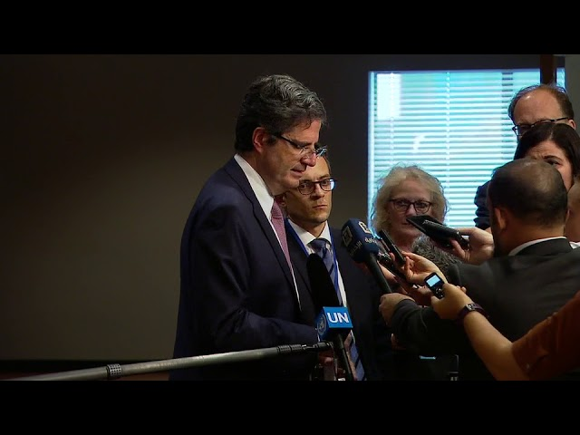 François Delattre (France) on Syria - Press Encounter (27 September 2017)