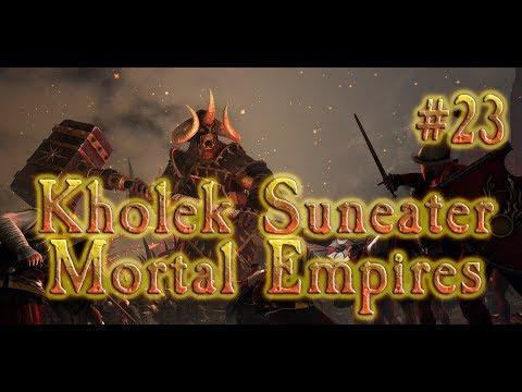 Total War: Warhammer 2 Chaos - Kholek Mortal Empires #23 RAVAGING ULTHUAN!