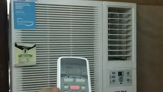 How to use Voltas 0 75 Ton 2 Star Window AC Remote Hindi Live Video