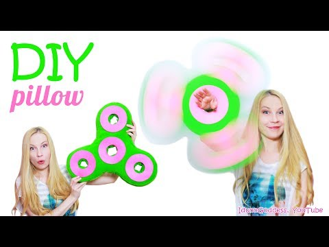 Thumbnail: How To Make Fidget Spinner Pillow – DIY Giant Fidget Spinner Pillow (No Sew)